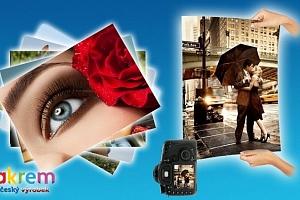 10 velkoformátových fotografií...