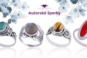 Pravé stříbrné prsteny...