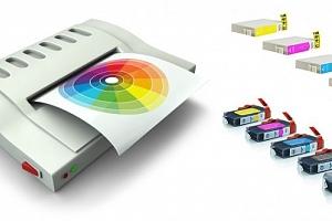 Kompatibilní sada náplní pro tiskárny Canon nebo Epson...
