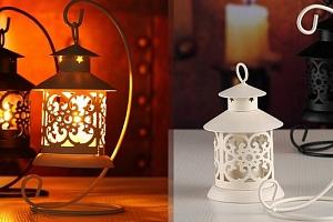 Krásná dekorativní lucerna...
