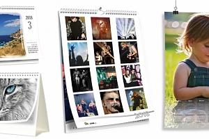 Stolní či nástěnné kalendáře...