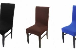 Potah na židli jednobarevný...