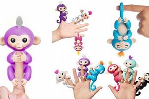 Interaktivní opička pro děti...