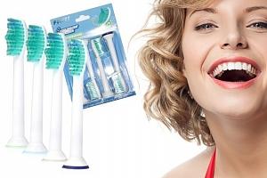 Náhradní hlavice na elektrické zubní kartáčky...