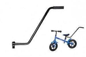 Vodící tyč pro dětské kolo - černá...