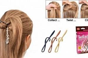 Spony do vlasů - Twist n Clip...