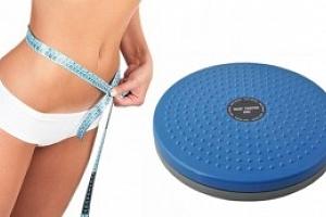 Rotační disk Twister na cvičení...