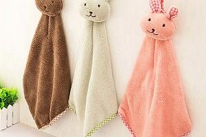 Dětský ručník v podobě králíčka...