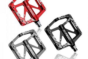 Kvalitní cyklistické pedály z hliníkové slitiny - 3 barvy a poštovné ZDARMA!...