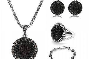Sada dámských vintage šperků a poštovné ZDARMA!...