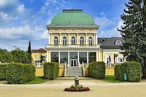 3–6denní pobyt s polopenzí, wellness a slevami v hotelu Zátiší*** ve Františkových Lázních...
