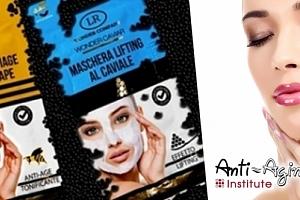 Luxusní pleťové masky s obsahem včelího jedu a kaviáru od Anti-Aging Institute....