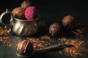 Sladké čokoládové kurzy výroby čokolády...