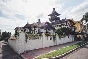 Mariánské Lázně: zámecký Schlosshotel *** s polopenzí a procedurami...