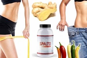 Produkt se silným složením pro formování postavy a silný spalovač tuků na 3 měsíce - SPALTO....