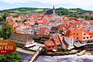 Český Krumlov: 3-6 dní pro dva s polopenzí, do 12/2018...