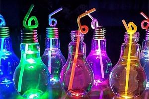 Originální lahev na nápoje - žárovka a poštovné ZDARMA!...