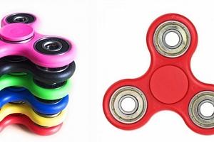 Populární antistresová hračka Fidget Spinner....