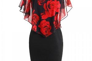 Dámské šaty Ericka v plus size velikostech - 3 varianty a poštovné ZDARMA!...