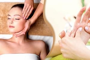 Balíček relaxace pro ženy v délce 70 min., masáž hlavy, obličeje, dekoltu, rukou, liftingová maska....