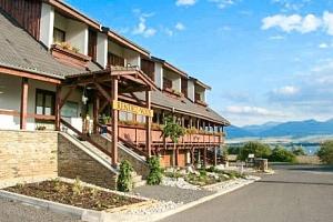 Liptov se vstupenkou do aquaparku a polopenzí v hotelu Rendez-Vous ***...