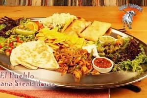 Mexické degustační menu pro 2-3 osoby! Mísa o ⌀ 60 cm...