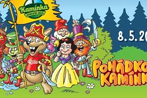 Rodinná vstupenka na Pohádková Kamínka 8.5.2018 v Roštíně...
