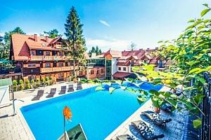 Krakov luxusně v Hotelu Modrzewiówka *** s wellness, vířivkou a polopenzí...