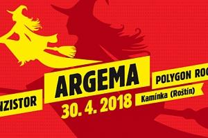 Lístek na Pálení čarodějnic 30.4.2018 v Roštíně...