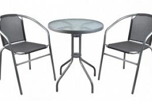 Malatec, Zahradní nábytek, šedá, P6121...