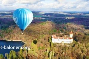 Vyhlídkový let balonem pro 1 či 2 osoby až na 2 hodiny...