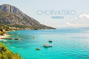Chorvatský Gradac na 7 či 10 nocí pro 1 osobu včetně dopravy...