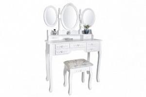 Malatec, Toaletní stolek se stoličkou a zrcadlem XL, DT4644...
