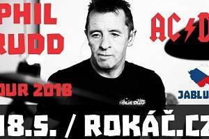 Lístek na PHIL RUDD & his BAND 18.5.2018 v Jablunkově...