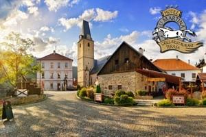 Rožmberk nad Vltavou: 3 dny pro dva vč. snídaní a večeře...