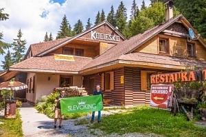 Nízké Tatry s bohatou polopenzí v nejvýše položené horské chatě Koliesko...