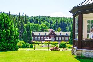 Jeseníky: Karlova Studánka v Hotelu Džbán *** s Thermal Parkem a polopenzí...