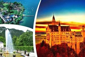 1denní poznávací zájezd pro 1 osobu - zámek Neuschwanstein, jezero Chiemsee a Mnichov....