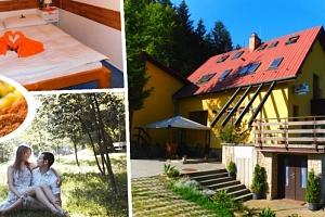 Pobyt v Beskydech v penzionu Na Lůkách. Polopenze, welcome drink, vstup do sauny, kulečník aj....