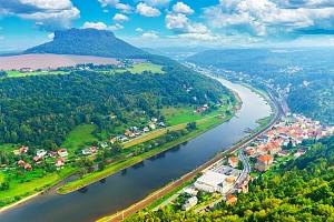 Celodenní zájezd pro 1 na Königstein s návštěvou Bastei i Bad Schandau v Německu...