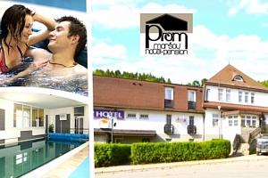 Pobyt s welness v hotelu Prom pro d va s polopenzí, welcome drink, bazén, sauna, fitness....