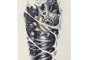 Dočasné 3D tetování - mechanika a poštovné ZDARMA!...