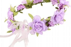Květinový věnec do vlasů - 4 varianty a poštovné ZDARMA!...