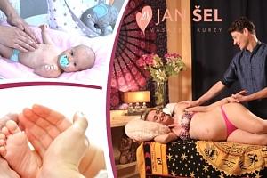 On-line kurz masáží miminek nebo těhotných, roční přístup k on-line video kurzům....