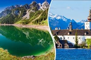Rakousko - jezera Solné komory a lázeňská města: výlet pro 1 os....