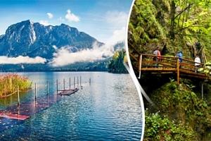 Sobotní turistický výlet do Ptačí soutěsky v Rakousku pro 1 osobu...
