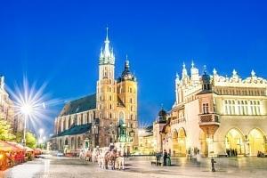 Až 5 romantických dní pro dva v Krakově...