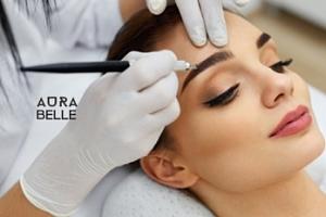 Permanentní make-up vybrané oblasti v Karlíně...