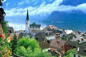Celodenní zájezd pro 1 k jezerům Solné komory v Rakousku...
