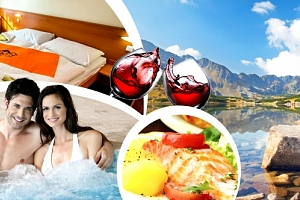 Wellness pobyt s balíčkem slev v Hotelu Rysy ***. Welcome drink, vířivka, sauna, biliard aj....